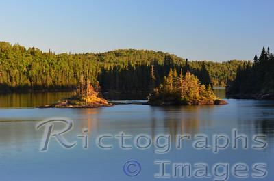 Lake Superior, Marine Conservation Area, Lawrence Bay, Slate Islands,  Terrace Bay, Ontario, Canada