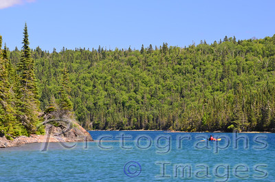 Lake Superior Kayaking,  Lake Superior National Marine Conservation Area;