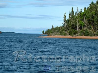 Lake Superior Landscape, Slate Islands