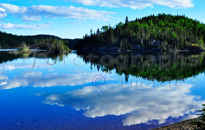 Lake Superior, Slate Islands. Shot Taken From McColl Island.