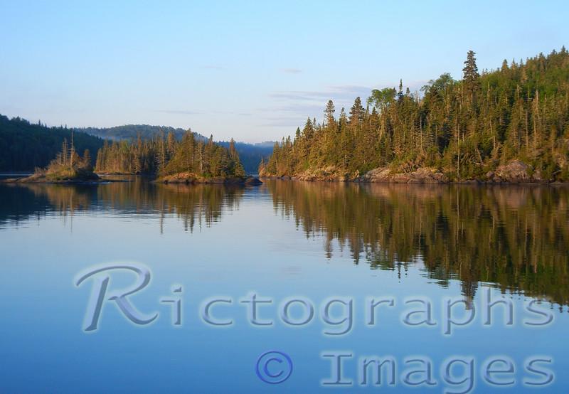 Lawrence Bay, Slate Islands, Lake Superior