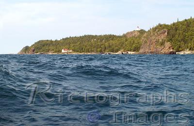 Lake Superior, Slate Islands LightHouse Complex.