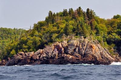 Lake Superior's Rocky Coast