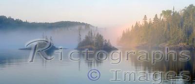 Lawrence Bay, Slate Islands, Lake Superior, Ontario, Canada