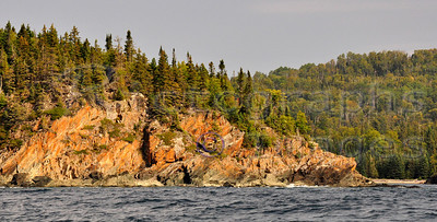 Rocky Coast of Lake Superior