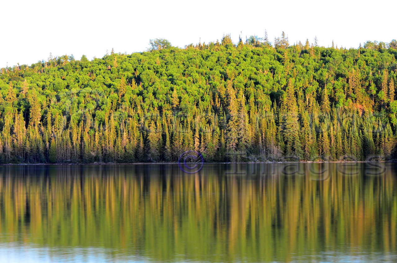 Reflective Superior,  Lake Superior National Marine Conservation Area;