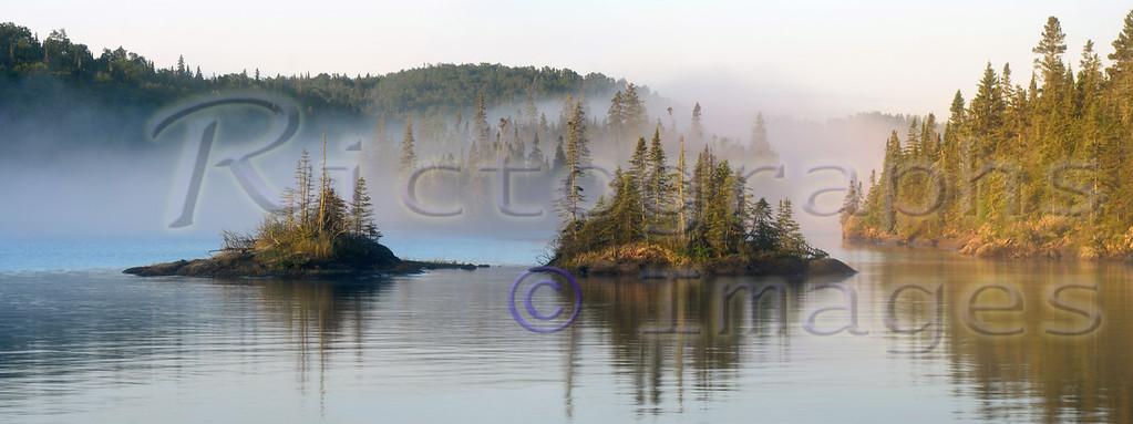 Lawrence Bay, Lake Superior, Slate Islands