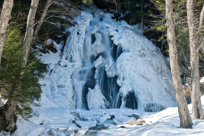 Winter at Moss Glen Falls