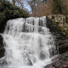 Enloe Creek Falls with blue sky!