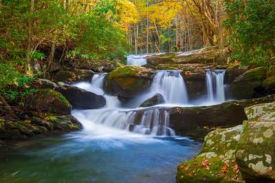 Cascade in Early Autumn