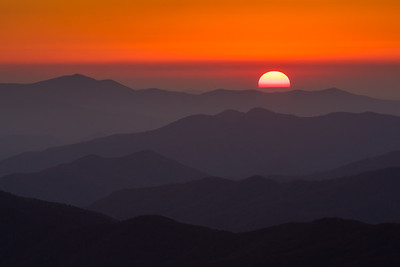 Sunset Over the Smokies