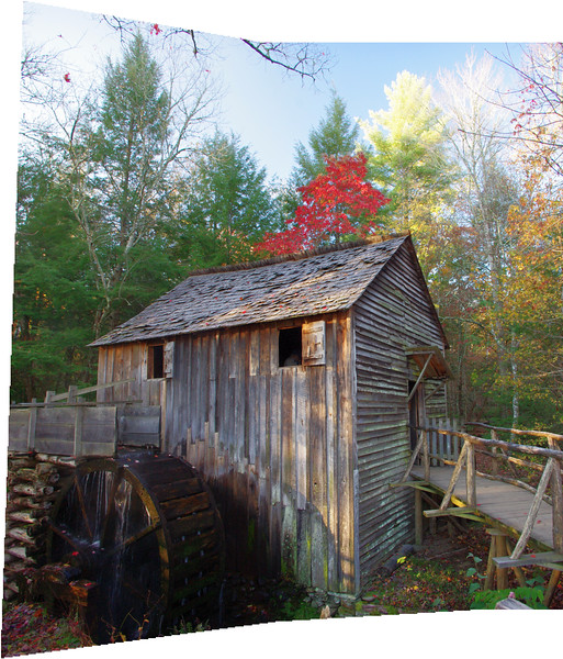 Cades Cove grist mill.