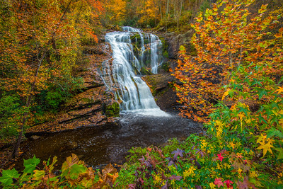 Bald River Falls Landscape