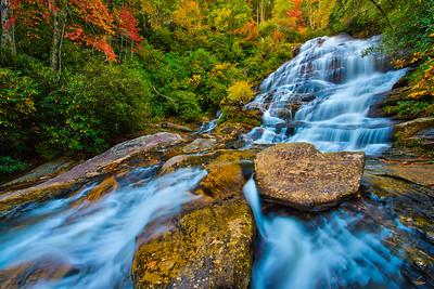 Glen Falls in Autumn