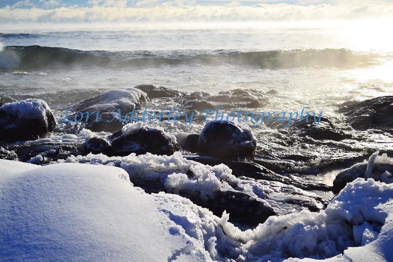 Icy turbulence