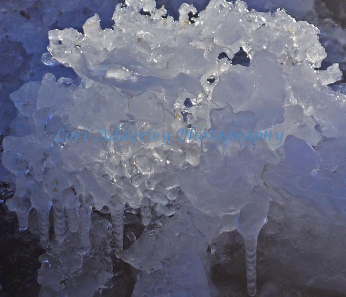 Icy mosaic