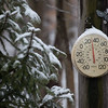 Snow Thermometer Cold