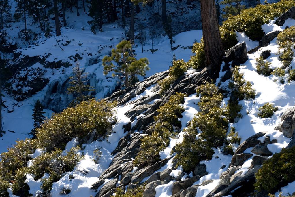 Frozen Eagle Falls