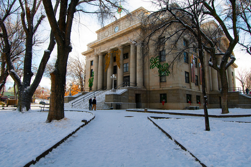 Courthouse in Winter
