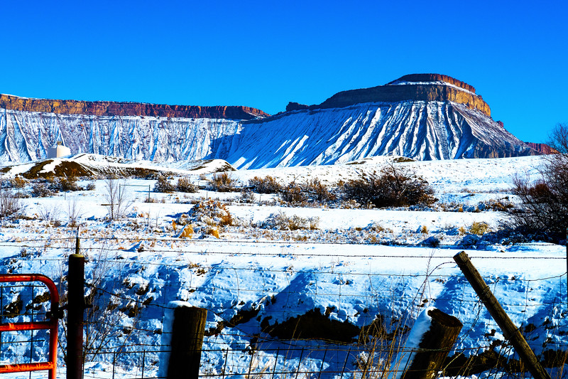Book Cliff & Mt. Garfield Mountains