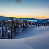 Willard Peak Morning sunrise