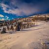 Northern Utah, fresh snow