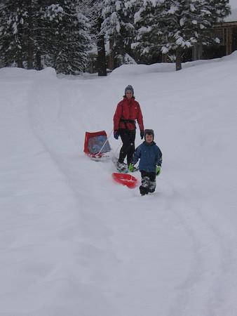 Snowshoeing Winter 2007-08