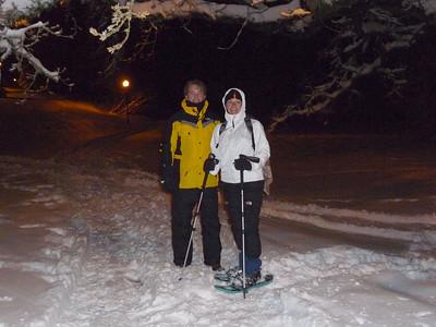 Snowshoeing local - December 22, 2008