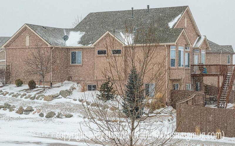 Snowstorm in Colorado Springs