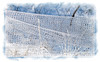Hoarfrost on deer netting; detail in the image is best viewed in a larger size
