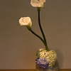 Sogetsu Ikebana flower arrangement by Yoshie Kurose.