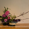 Sogetsu  Ikebana flower arrangement by Ruth O'Donnell.