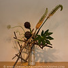 Sogetsu Ikebana flower arrangement by Keith Stanley.