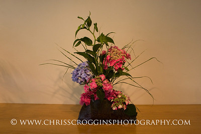 Sogetsu Ikebana flower arrangement by Mia Frawley.