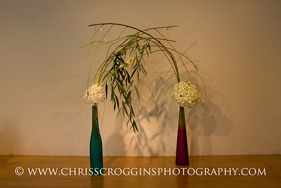 Sogetsu Ikebana flower arrangement by Amy Painter.