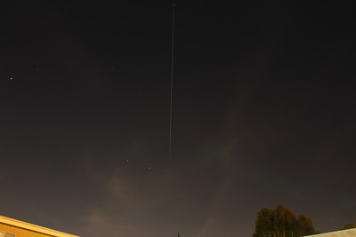 International space Station shot with a Canon 20D and a Canon 18-55