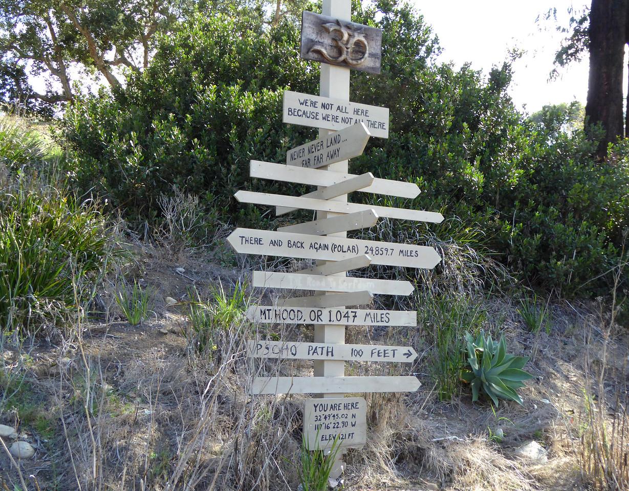 Never never land is far away Hike on Bikepath 151020