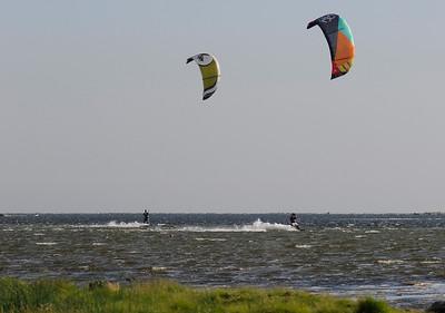 Kitesurfing i Torhamn
