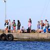 I väntan på skärgårdsbåten, Stenshamn