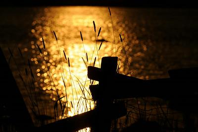 Solnedgång på Almö