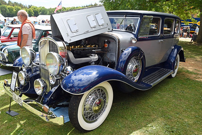 FRANKLIN OXFORD DELUXE SEDAN - 1931