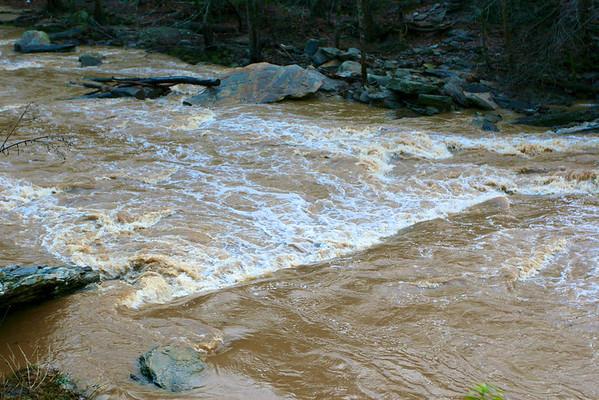 Sope Creek After Rain