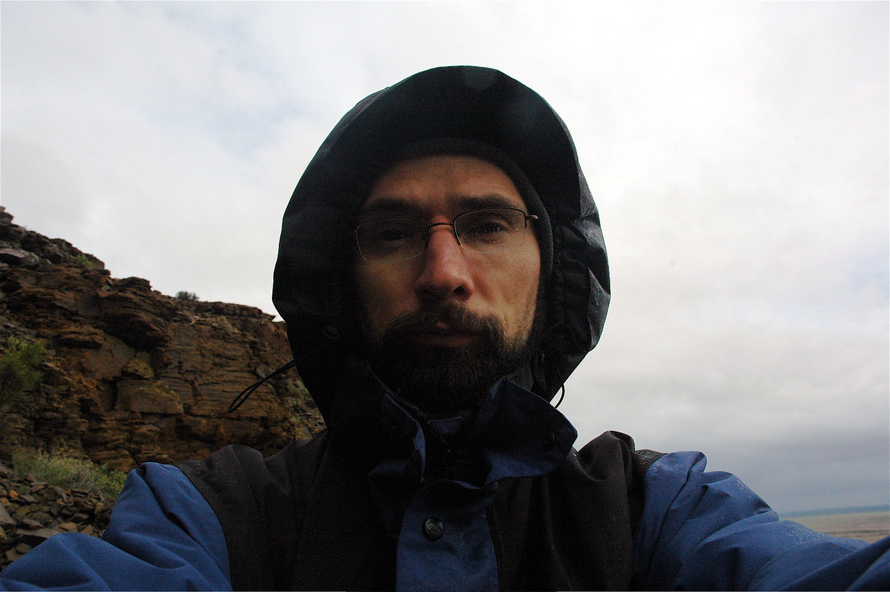 Fieldwork is not always 100% fun - especially not if it's raining