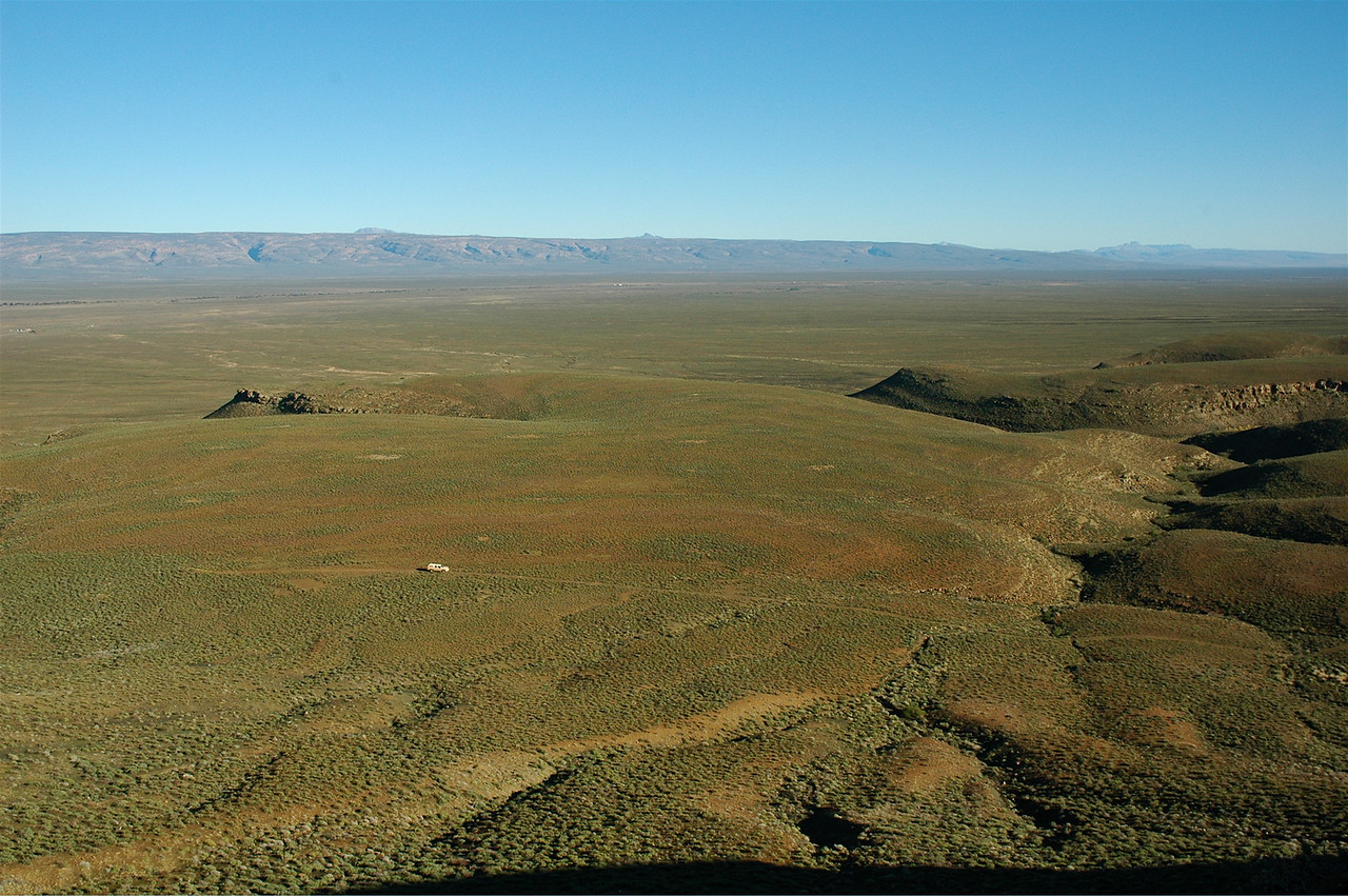 The Karoo is not small (car for scale)