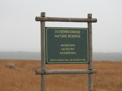 Pre-Mega tour day trip to Suikerbosrand and Marievale near Johannesburg.