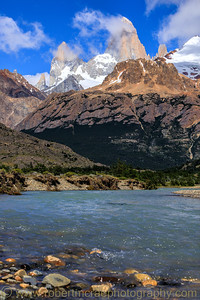 Fitz Roy from River