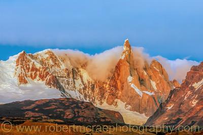 Cerro Torre before Sunrise