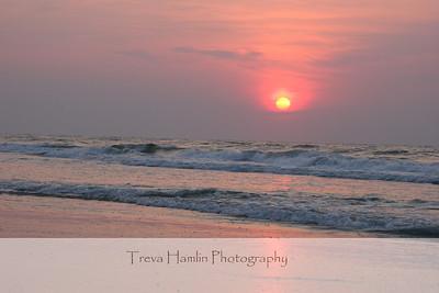 sunrise at Litchfield Beach