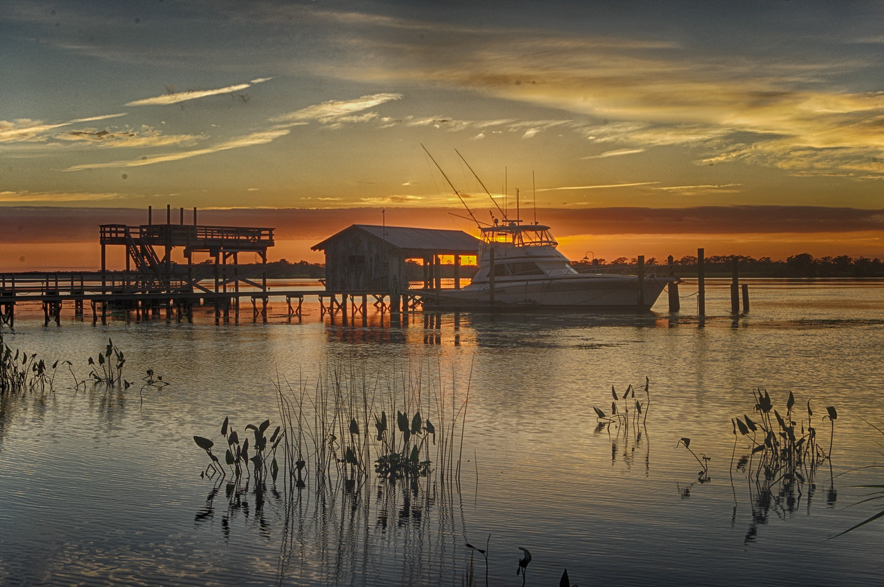 Pawleys island sunset