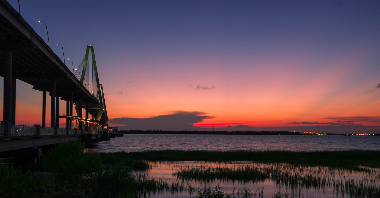 Ravenal Bridge Sunset